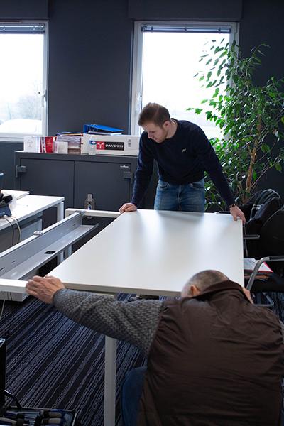 Montage mobilier bureau
